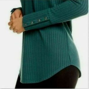 Chaser evergreen long sleeve thermal top medium